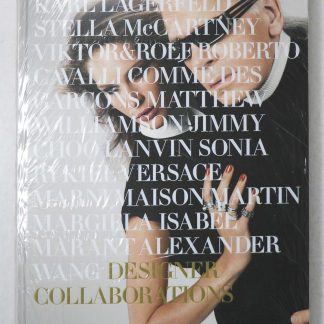 H&M THE FIRST TEN YEARS DESIGNER COLLABORATIONS BOOK by Karl Lagerfeld