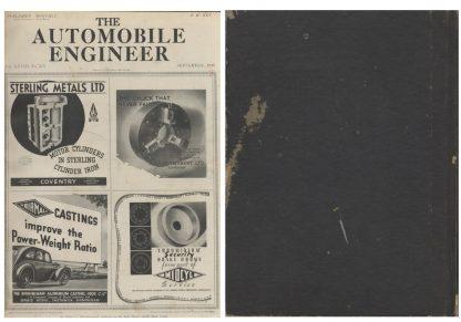 The Automobile Engineer Vol.28 No.375 -379・5冊合本