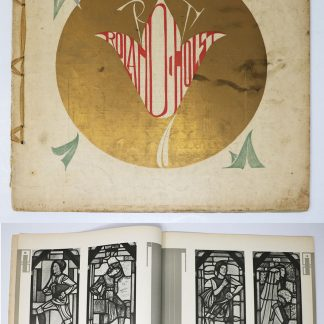 Wendingen:Series 5 1923 no.1: Stained glass windows of R.N. Roland Holst
