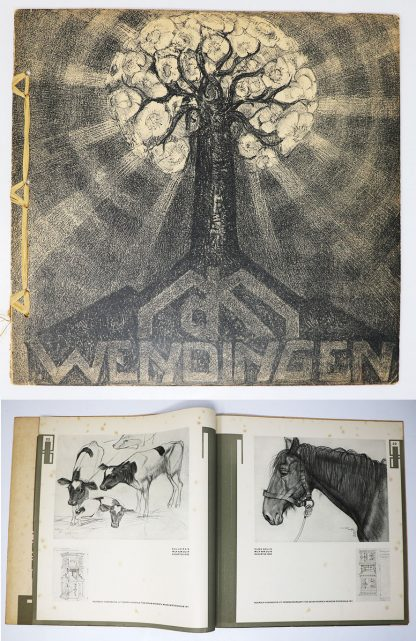 Wendingen:Series 6 1924 no.2:Sketches and studies by Michel de Klerk