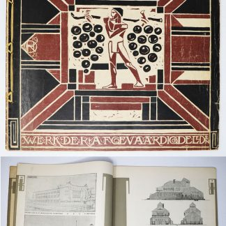 Wendingen :Series 4 1921 no.4-5:Works from members of Architectura et Amicitiae