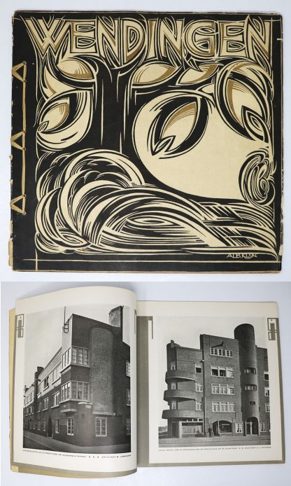 Wendingen:Series 5  1923 no.4:Houses in Amsterdam-Zuid