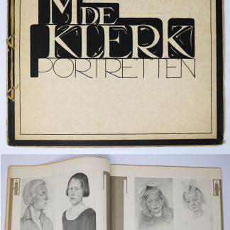 Wendingen:Series 6  1924 no.7:Portraits by Michel de Klerk