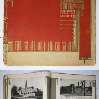Wendingen:Series6 1925 no.8:Hilversum Town Hall and other works by WM Dudok