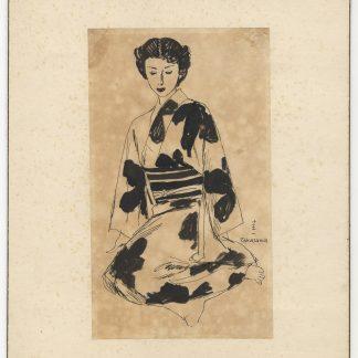 高沢圭一 挿絵 女性図