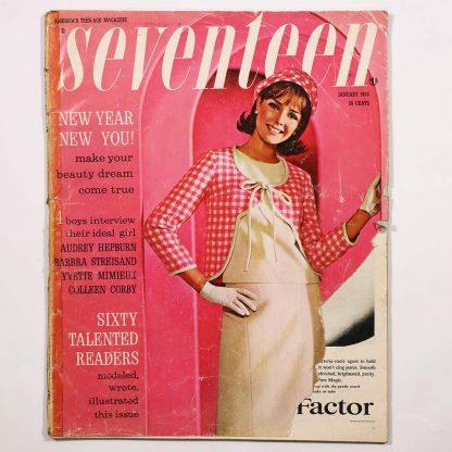 Seventeen Magazine January 1965