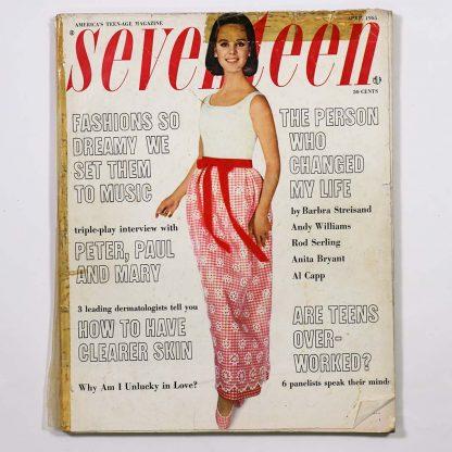 Seventeen Magazine April 1965