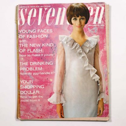 Seventeen Magazine September 1965