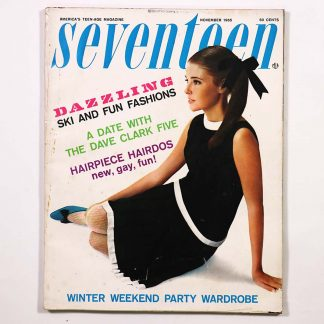 Seventeen Magazine November 1965