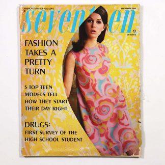 Seventeen Magazine September 1966