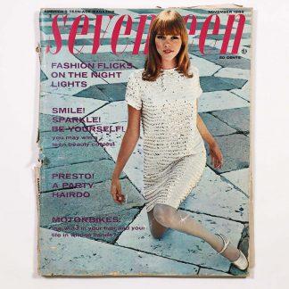Seventeen Magazine November 1966
