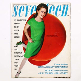 Seventeen Magazine January 1967