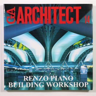 GA ARCHITECT 14 Renzo Piano レンゾ・ピアノ