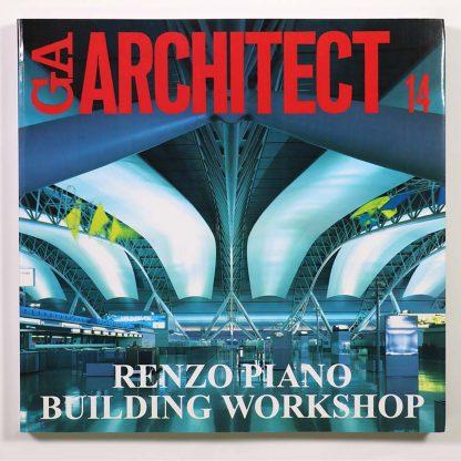GA ARCHITECT 14 Renzo Piano レンゾ・ピアノ