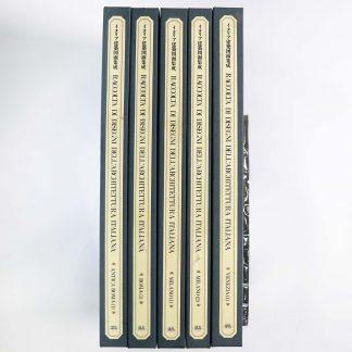 イタリア建築図面集成 全5巻+解説 6冊揃
