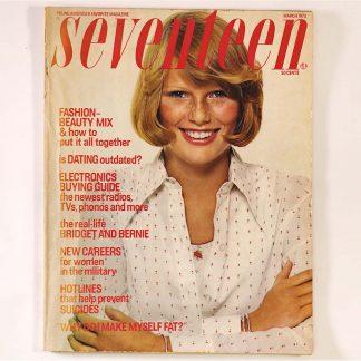 Seventeen Magazine March 1973