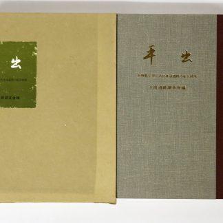 平出 長野県宗賀村古代集落遺跡の総合研究