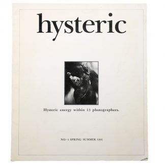 hysteric NO.1 Spring - Summer 1991