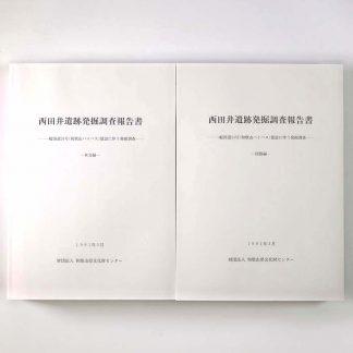 西田井遺跡発掘調査報告書 本文編・図版編